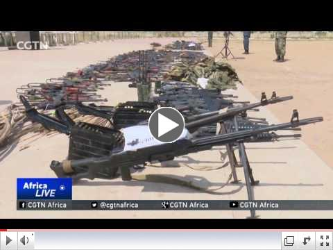 Juba calm for first time in years due to seizing of illegal firearms/ CGTN