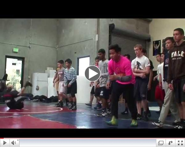 Wrestling Prep Blowing Up Residential Movement