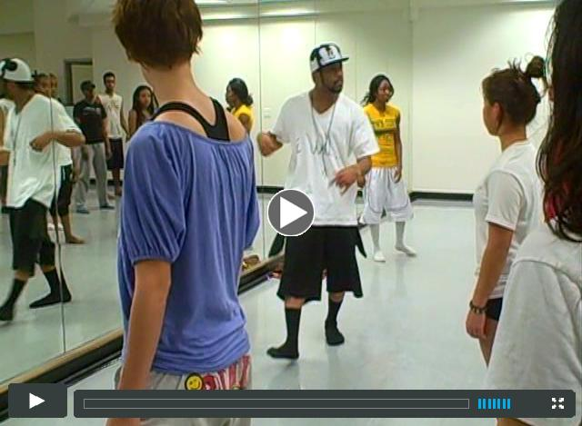 William & Moe Dance Class
