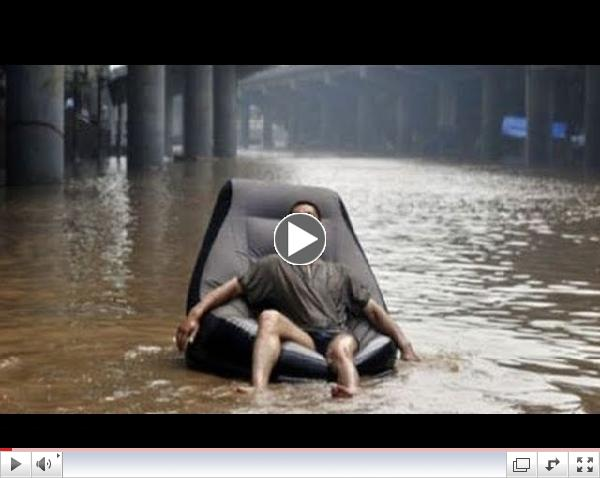 The positive response to the flood - Funny