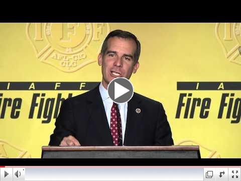 Los Angeles Mayor Eric Garcetti (D) - IAFF Legislative Conference