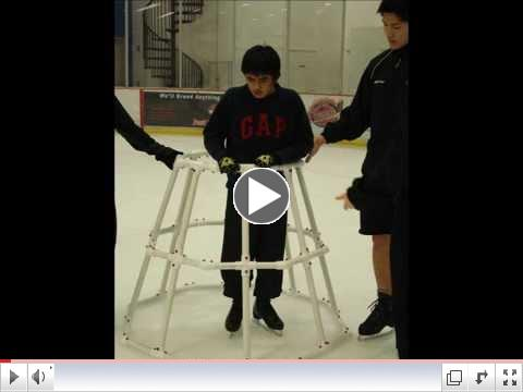 The Ice Cruiser - Fantastic Skating Aid for SkateTherapy participants