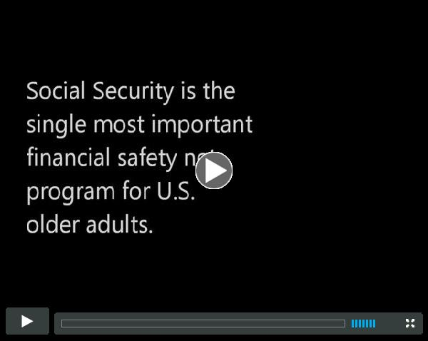 LGBT Older Adults & Social Security