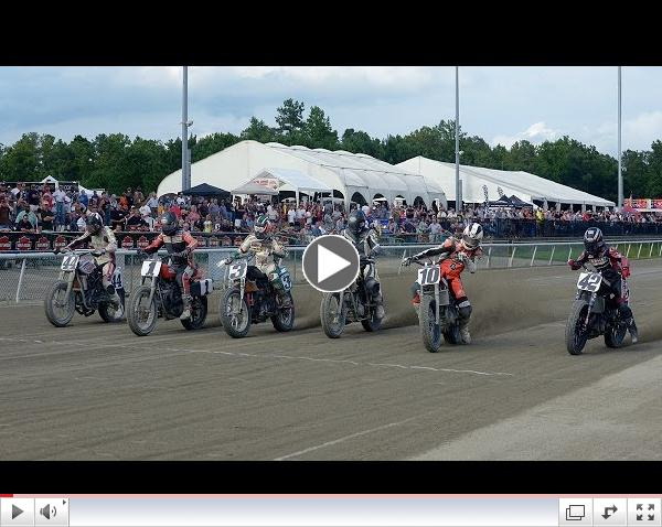 2014 Virginia Mega Mile Dash for Cash and Semi-Final Races - AMA Pro Flat Track