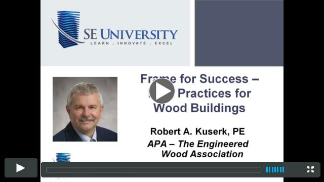Resources for Wood Construction - Seasoning Checks