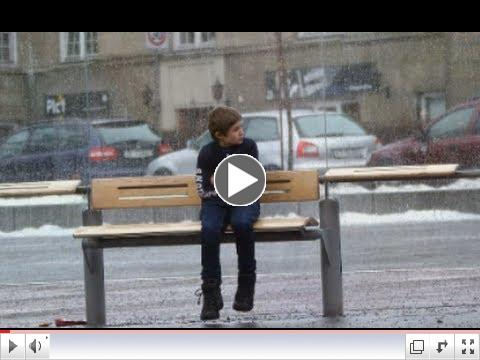 Would You Help A Freezing Child?
