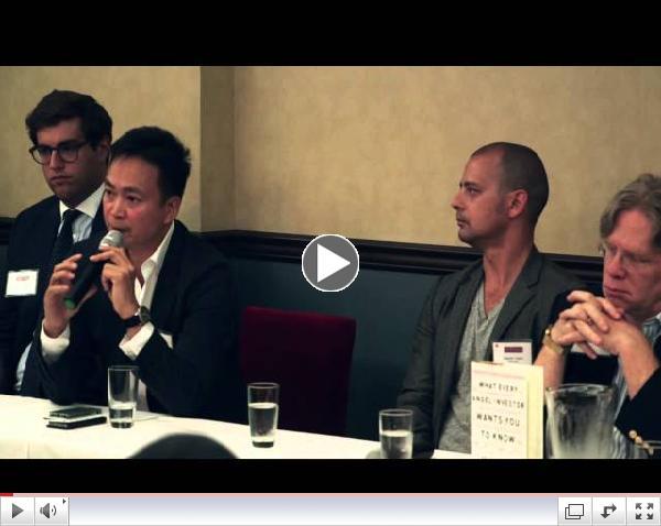 Silicon Dragon New York 2014: Startup Investor Panel