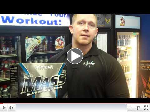 Dymatize Elite Mass Video