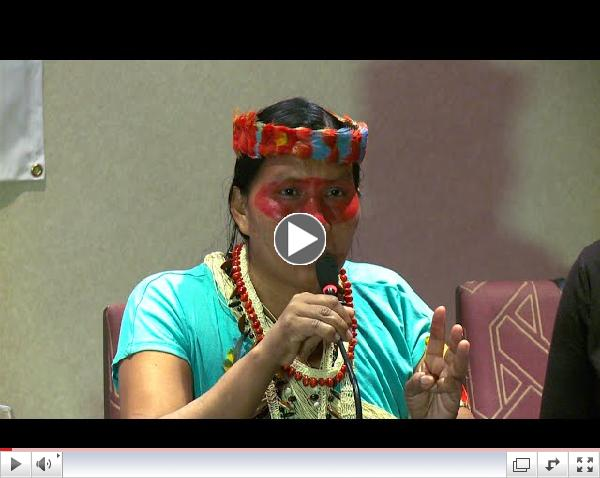 Democracy Now! - Indigenous Women: Earth Defenders Speak Out from the Front Lines of Climate Change