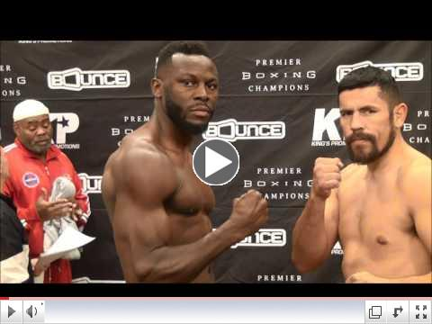 Kauffman - Mansour Full weigh in
