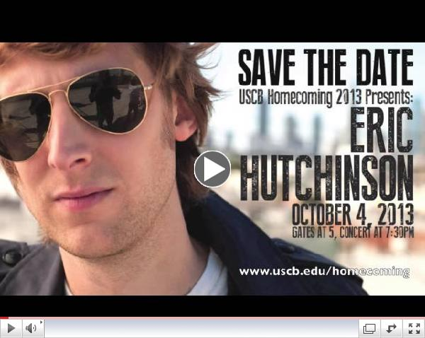 USCB Homecoming Concert 2013 featuring Eric Hutchinson