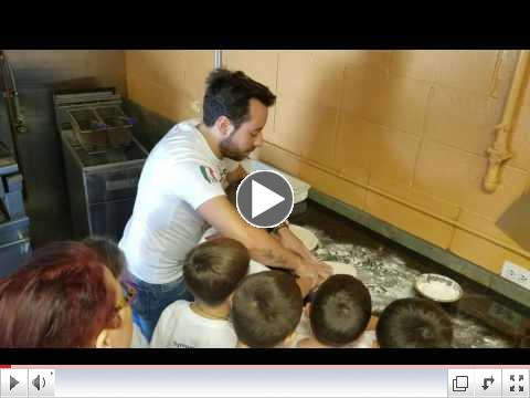 Pizza Making Day - Video Clip #2 - Summer Camp, Day 7 June 27, 2017