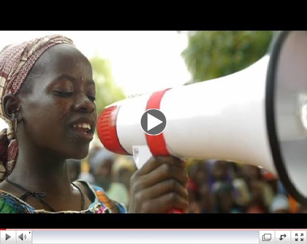 In the Niger children's rights are given voice