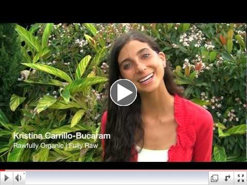 Kristina's New FullyRaw YouTube Channel
