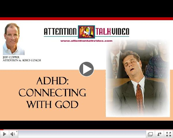 ADHD Tip: Paying Attention in Church