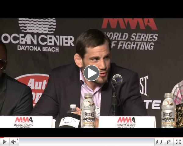 WSOF11 Press Conference - Justin Gaethje vs Nick Newell July 5th 2014