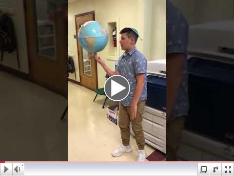 Watch Noah Luzer levitate the whole world!