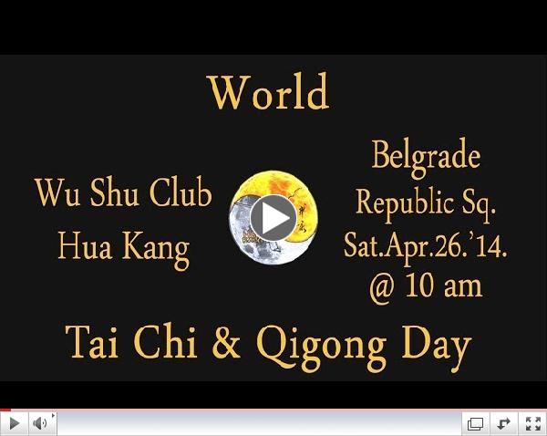Belgrade, Serbia - World Tai Chi & QiGong Day 2014