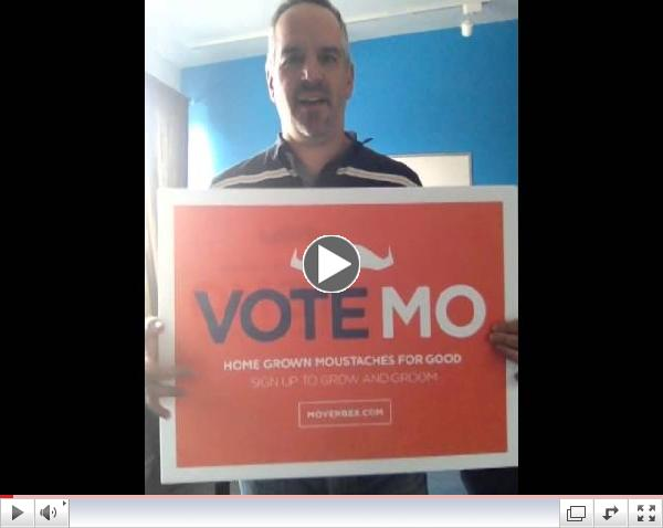 Jim Pagiamtzis sharing Vote movember campaign 2014