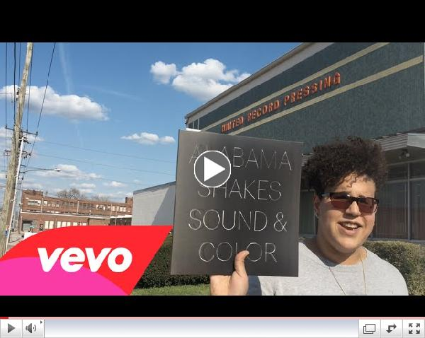 Alabama Shakes - Brittany Howard Tours Vinyl Plant