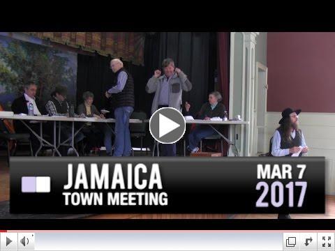 Jamaica Town Meeting