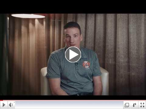 Andrew, a firefighter living with ET, talks about his decision to participate in myMPN