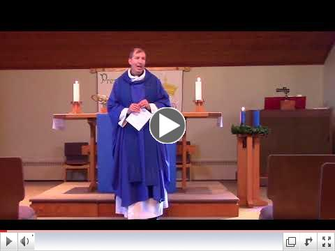 Pr. Steve's Sermon -