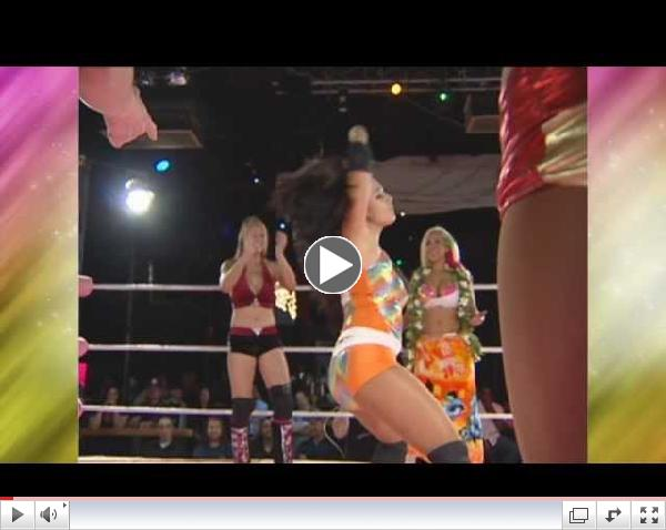 Women Wrestlers Do The Harlem Shake Including Amazing Kong (WWE Kharma)