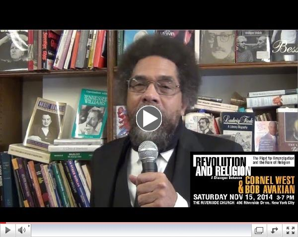 Cornel West Invites You To A Dialogue Between Him And Bob Avakian, Nov15
