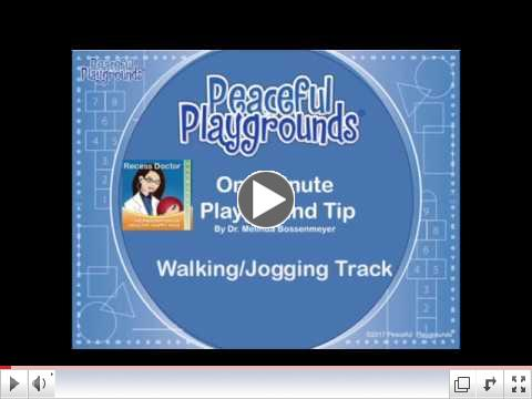 One Minute  Playground Video-Walking/Jogging Track