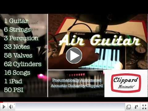 Automated Air Guitar