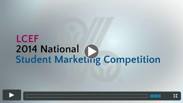 2014 National Student Marketing Competition