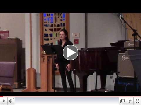 Maundy Thursday Solo by Kelsey McDonell - The Prayer