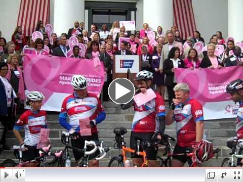 Video del D�a de Moffitt Marcha de la Sociedad Americana del C�ncer, 2012