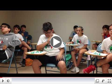Class Time - Tombola - Summer Camp, Day 15 - July 14, 2017 - Video 3