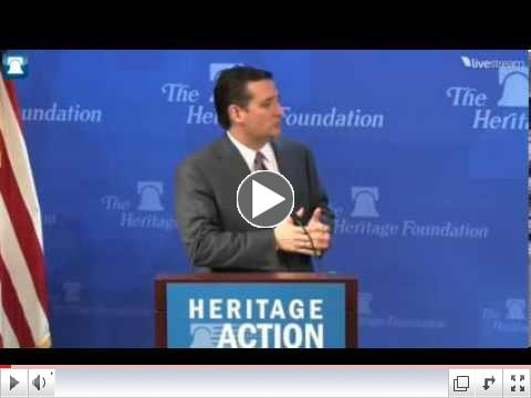 Sen. Ted Cruz at 2014 Conservative Policy Summit: An American Energy Renaissance