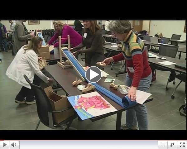 Local educators learning about STEM
