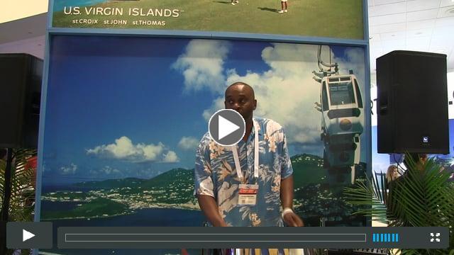 Stan Brown on Steel Pan at Seatrade Cruise Global 2017