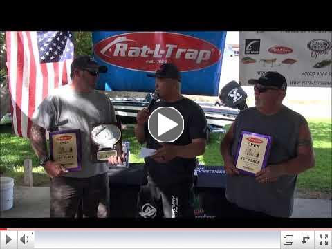 2018 Rat-L-Trap Open Winners  Ken Lewis and Steve Langley