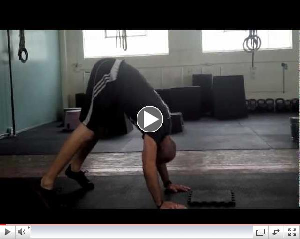 Paradiso CrossFit - Handstand Pushup with Progressions