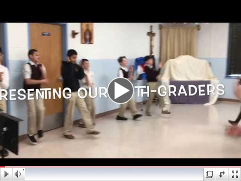 In preparation of Cinco de Mayo our 5th graders practice their Mexican Hat Dance!