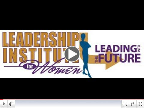 Leadership Institute for Women 2015