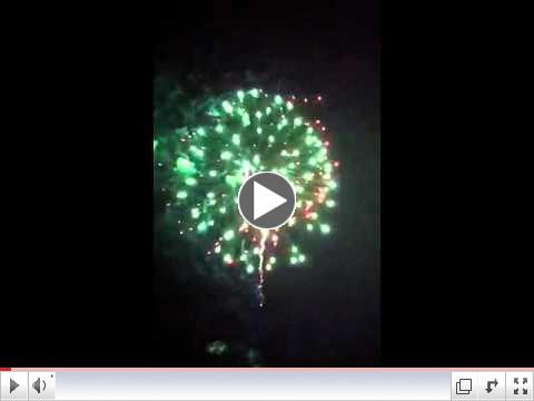 DeBordieu Fireworks Finale 2011