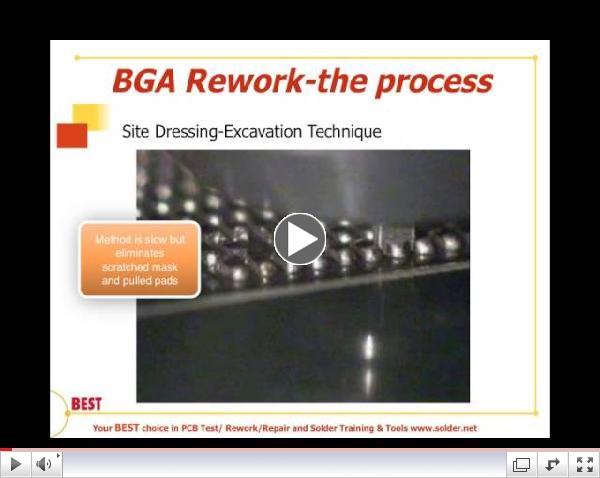 BGA Rework - Site Prep