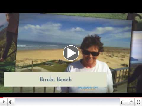 Trish Drew visits Australia in April, 2016. There are miles of beaches out there.