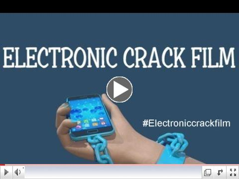 Electronic Crack:  Screens addiction, radiation and health