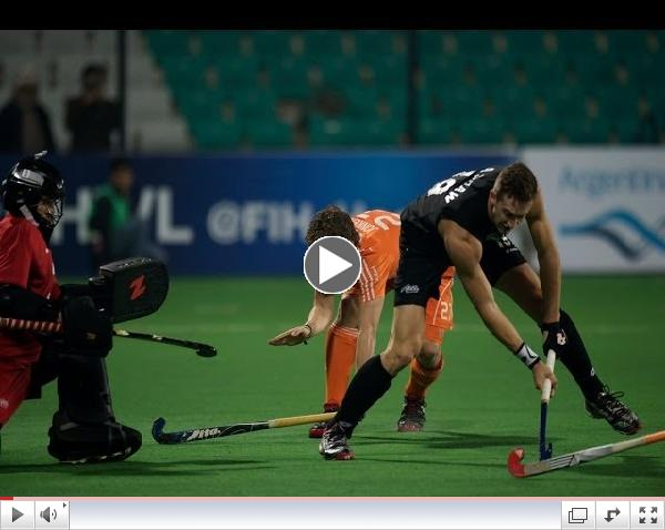 New Zealand vs Netherlands - Men's Hero Hockey World League Final India Final [18/1/2014]