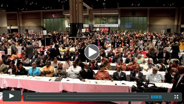 Highlights of 2012 AME Zion General Conference (Charolette, NC)  where Moore was elevated  to Bishop