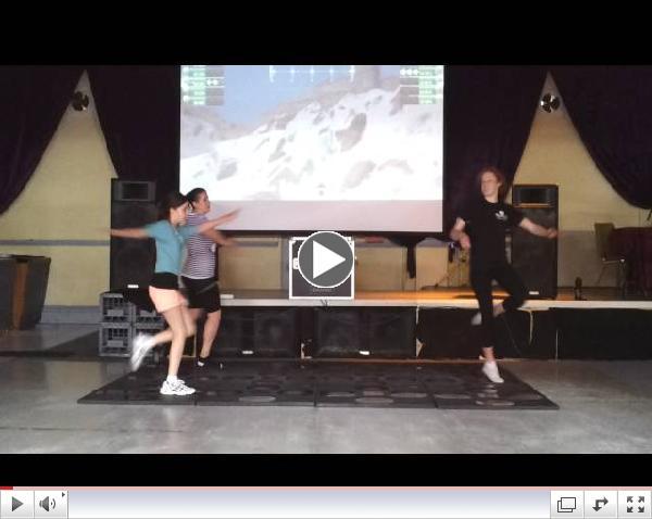 Multipad Machine Dance Exergaming