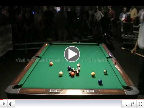 Scott Frost vs Efren Reyes 1 Pocket